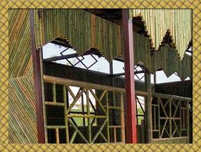 钢竹混装竹楼