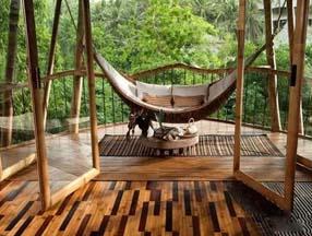 用竹子装修的婚房图片