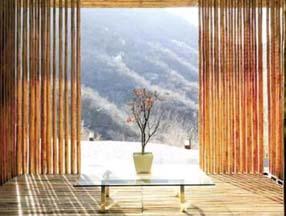 唯美的竹子装修房子图片