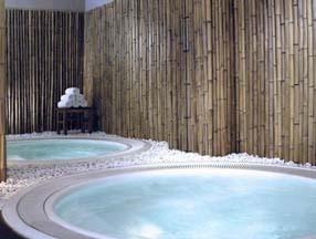 竹子装修洗浴中心室内效果图