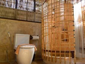 竹子装修室内卫生间效果图