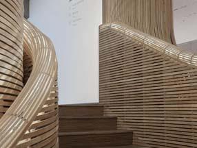 竹子装修露台楼梯效果图
